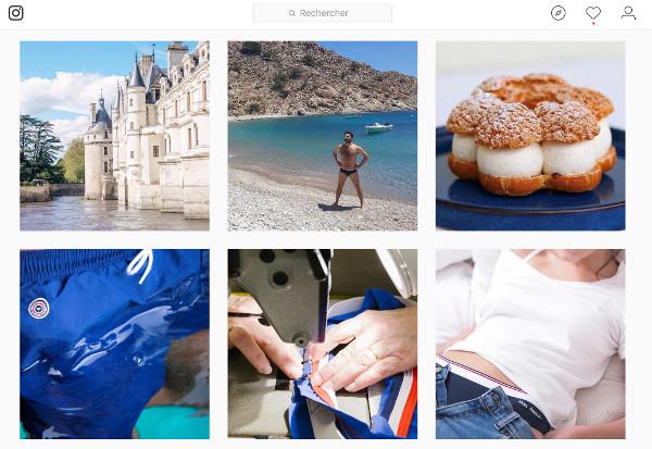 types de contenu instagram le slip français