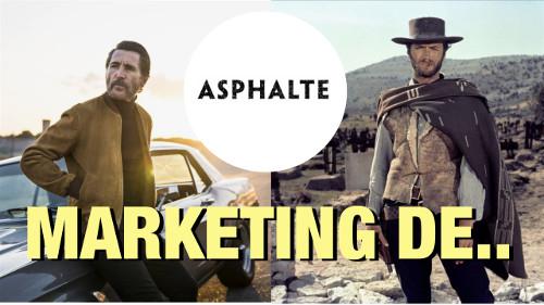 stratégie Marketing et growth de Asphalte