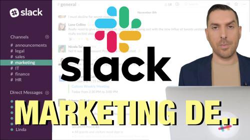 stratégie Marketing et growth de Slack