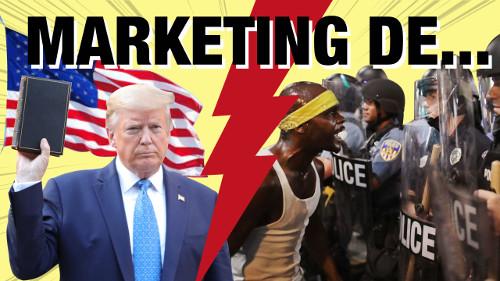 stratégie Marketing et growth de Trump