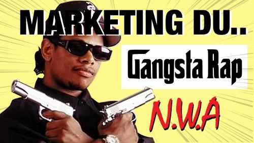 stratégie marketing du gangsta rap