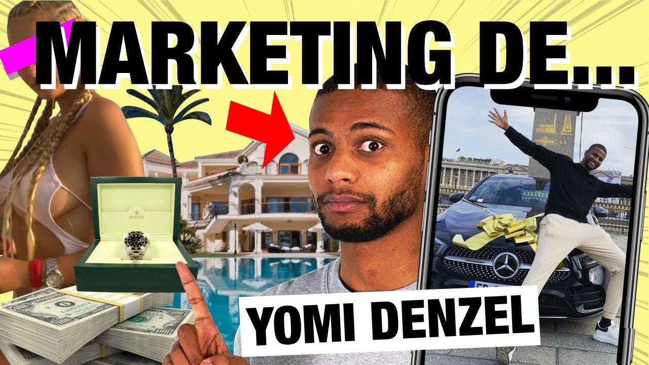 Stratégie marketing Yomi Denzel